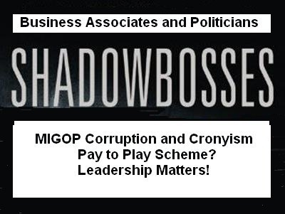 A GOP Corruption and Cronyism
